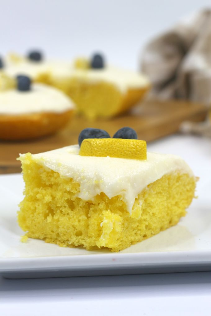 lemon sour cream sheet cake